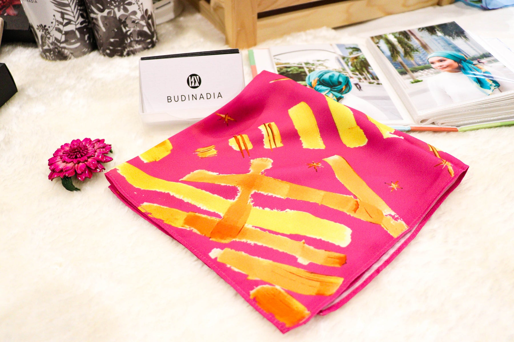 Abstract Pop Handkerchief