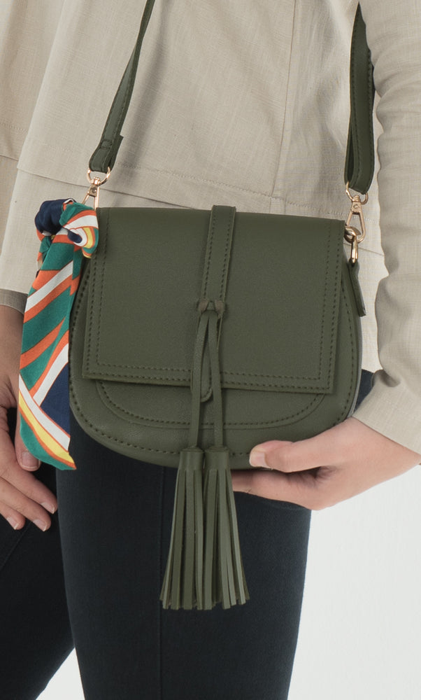 Alana Crossbody Bag - Army Green - RoseValley