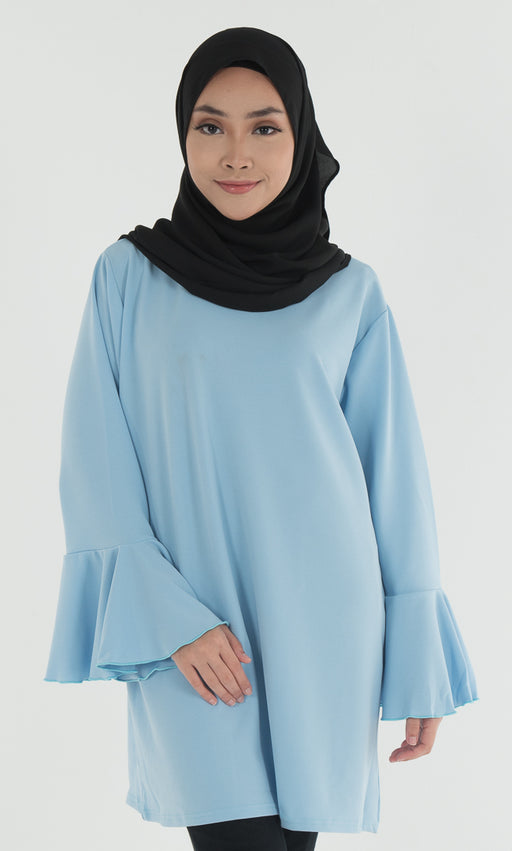 Bella - Misa Lycra Blouse Blue - RoseValley
