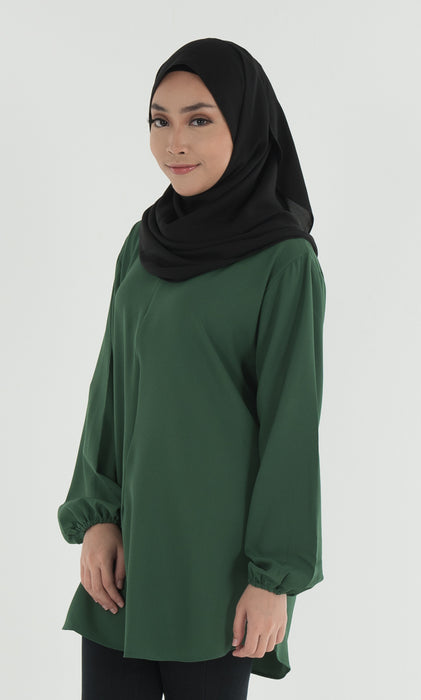 Bella - Misa Lycra Blouse Green - RoseValley