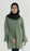 Classic - Mass Crepe Blouse Army Green - RoseValley