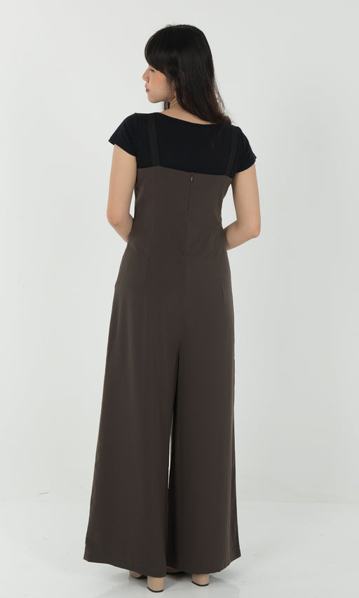 Jumpsuit in Green - RoseValley