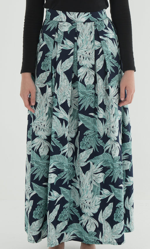 Summer Flory - Cotton Skirt Tropical - RoseValley