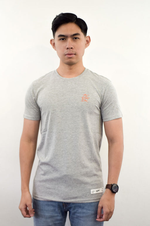 Zeeq Label – Signature Tee (Grey) - RoseValley