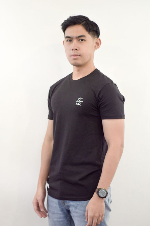 Zeeq Label – Signature Tee (Black) - RoseValley