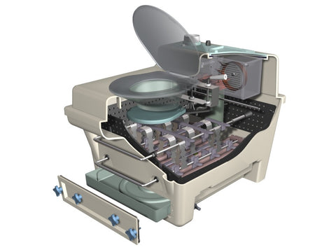Envirolet® MS10 cutaway view