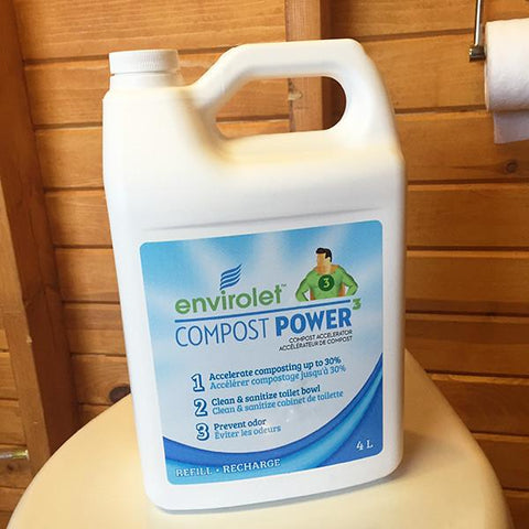 Envirolet® Compost Power³ Re-Fill (4L/1 GAL)