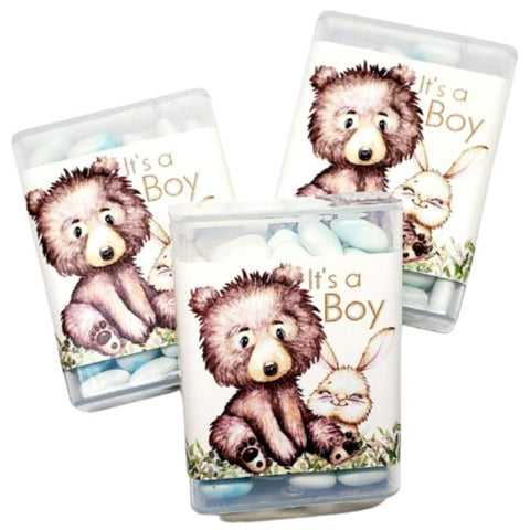 Personalized Baby Shower Tic Tac Favors