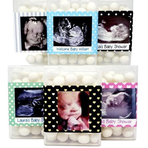 Personalized Baby Shower Tictac Favors Tic Tac Favors