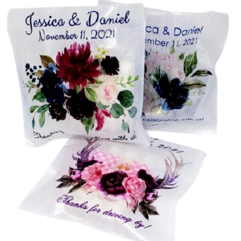 Personalized Wedding Candy Table Bags