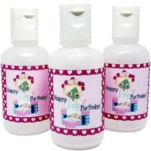 Birthday Party Hand Sanitizer Favors