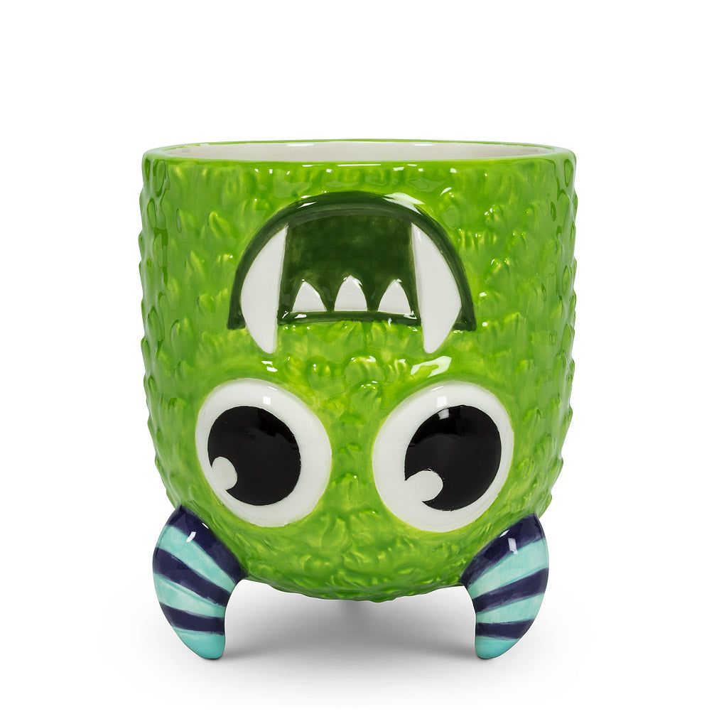 Upside Down Monster Mug - Blue