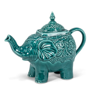 Ornate Elephant Teapot