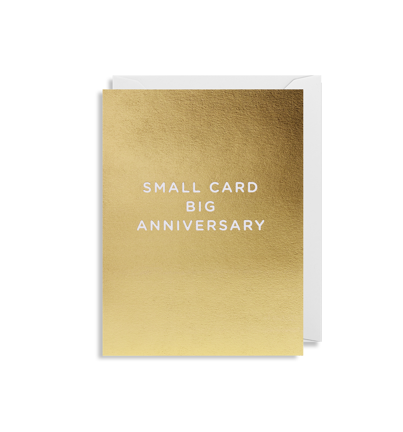 Big Anniversary Mini Card