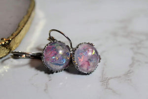Vintage Lace Drop-Earrings