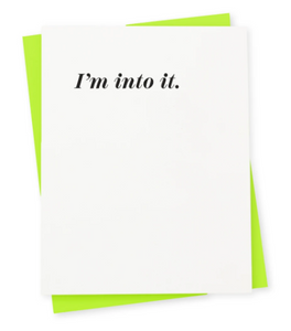 Into It Card