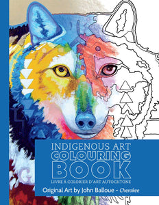 John Balloue - Cherokee Colouring Book
