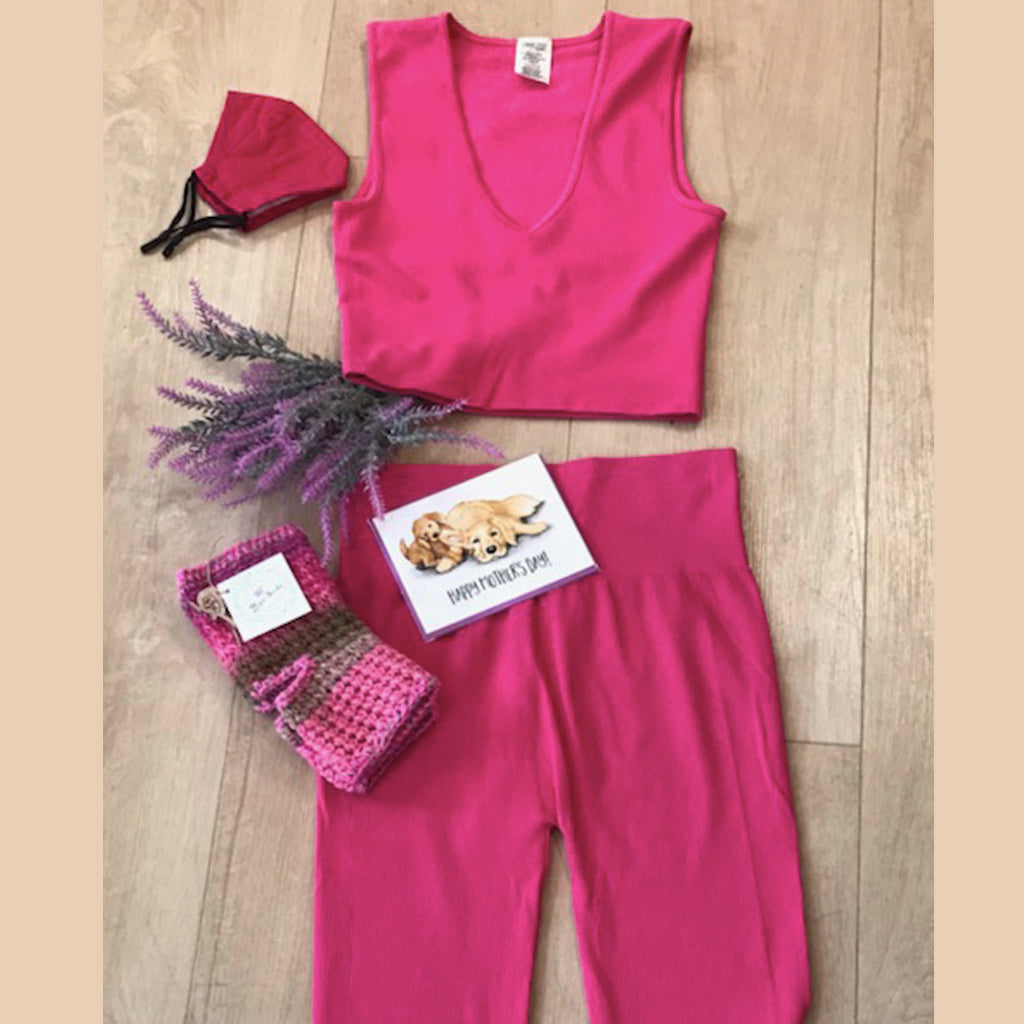 Look On The Pink Side Of Life Gift Set