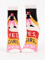Load image into Gallery viewer, Yes, Girl, Yes Ankle Socks