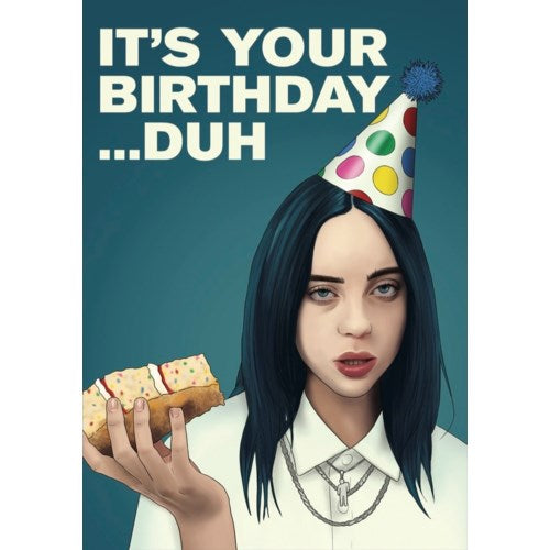 Billie Eilish Duh Card