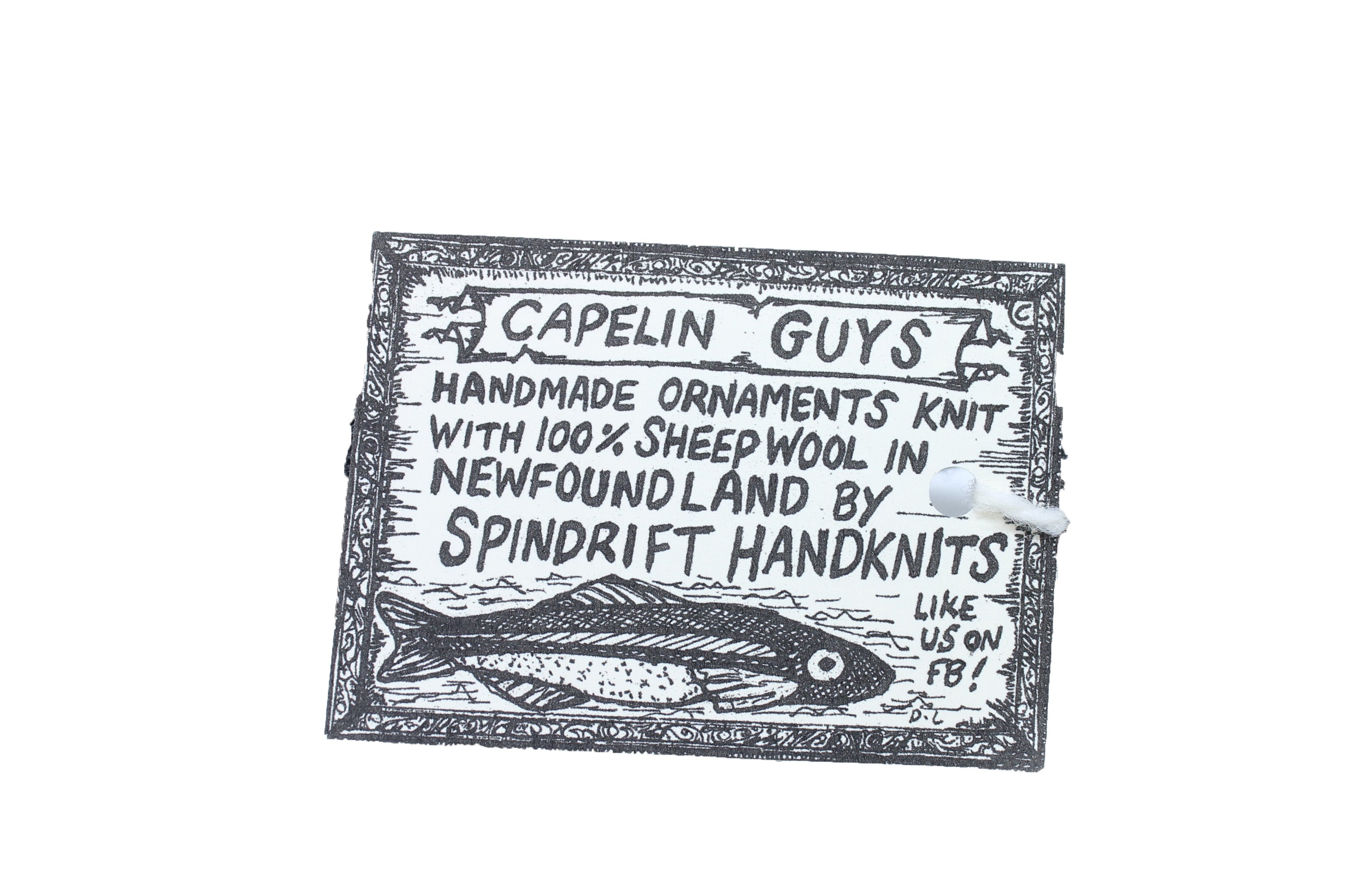 Capelin Toy Ornament