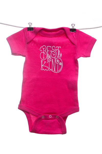 Best Kind Pink Baby Onesie | Newfoundland | Johnny Ruth