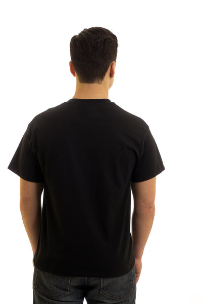 Men's Black T-Shirt Fisherman's Code| Newfoundland | Johnny Ruth