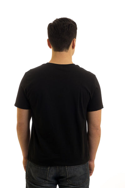 Men's Black T-Shirt Free Newfoundland | Newfoundland | Johnny Ruth
