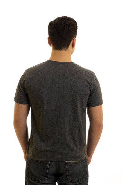 Men's Grey T-Shirt I Love Nan| Newfoundland | Johnny Ruth