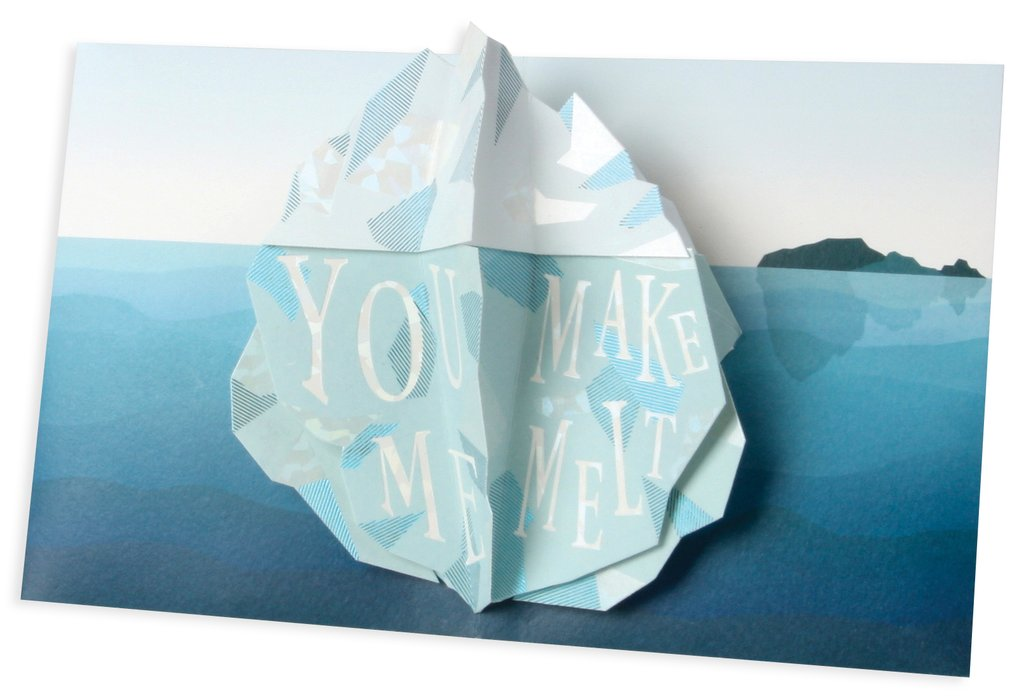 Iceberg Pop Up Card