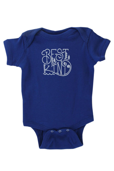 Best Kind Blue Baby Onesie | Newfoundland | Johnny Rut