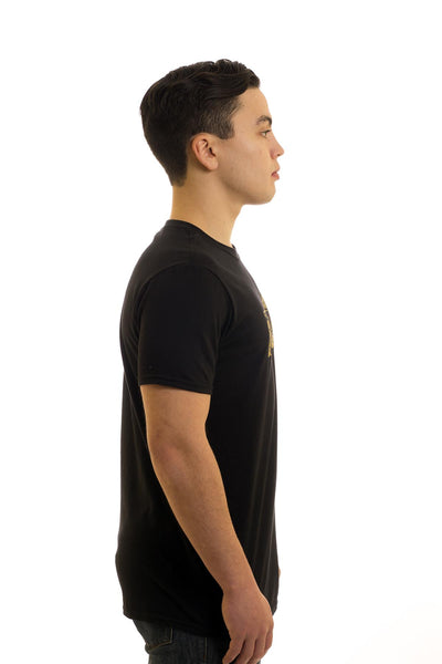 Men's Black T-Shirt Dory I Newfoundland | Johnny Ruth