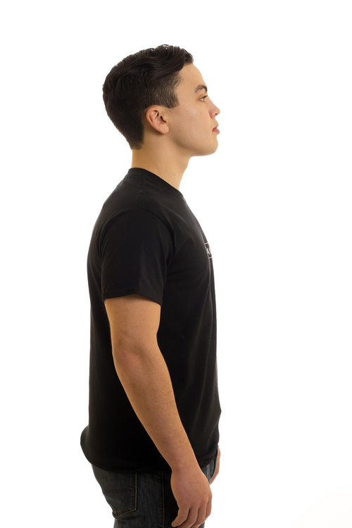Men's Black T-Shirt I Bayman | Newfoundland