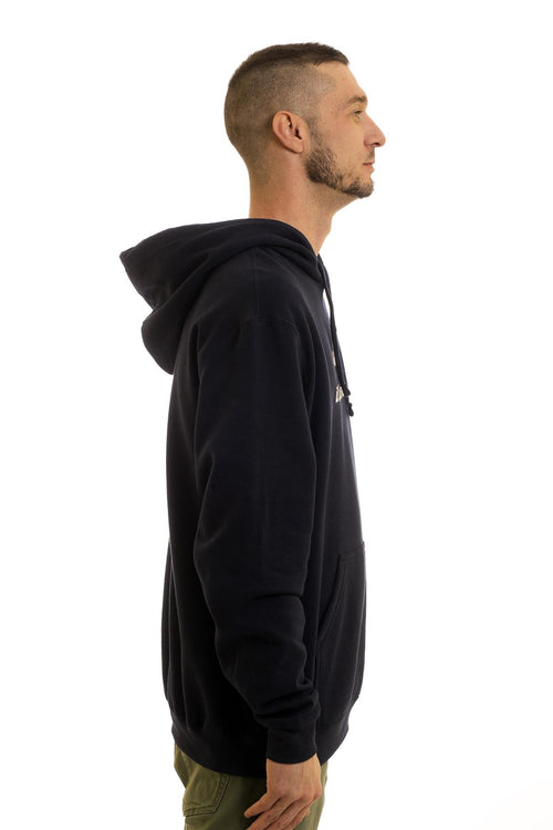 Men's Black Hoodie Caplin It's How We Roll | Newfoundland | Johnny Ruth