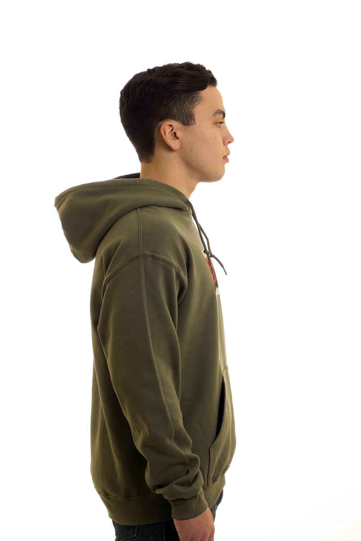 Men's Green Hoodie Newfoundland Liberation Army | Newfoundland | Johnny Ruth