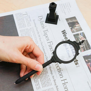 Street Clock Magnifier and Pen