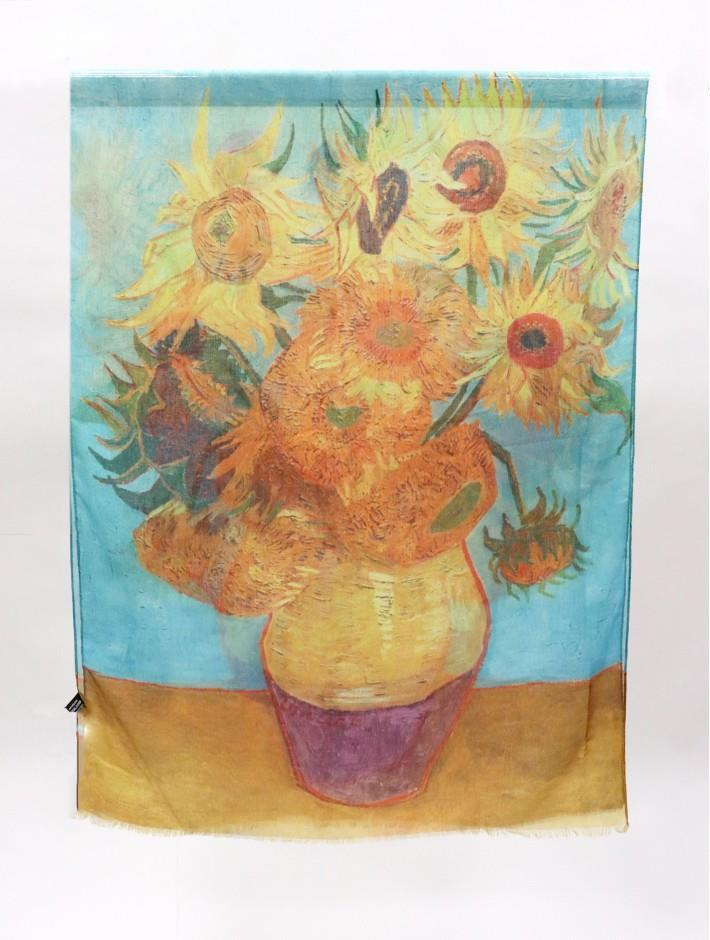 Oil Painting Design Scarf