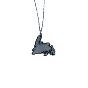Newfoundland Map Necklace