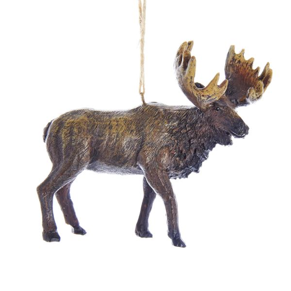 Resin Moose Ornament