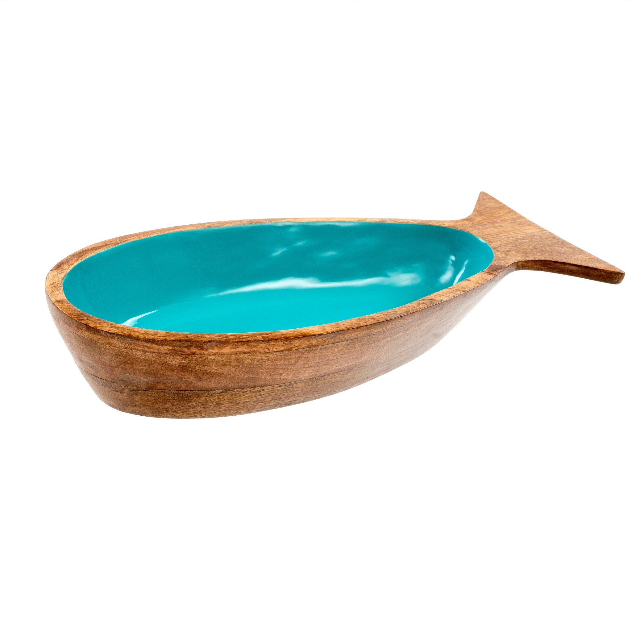 Pesca Serving Bowl - Teal