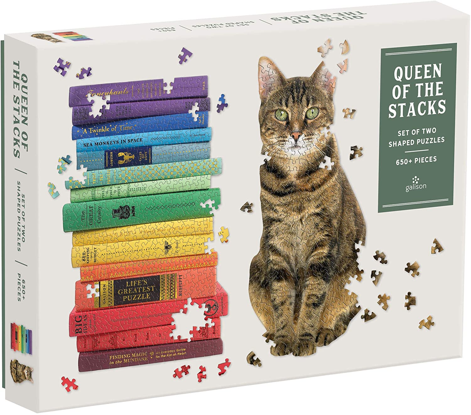 Queen of The Stacks 2-in-1 Puzzle