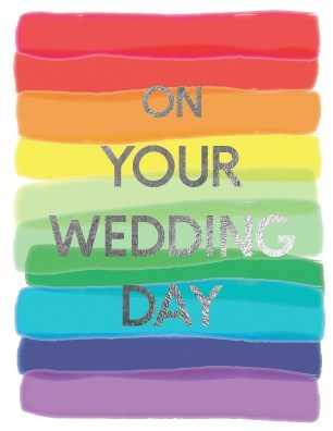 Rainbow Wedding Card