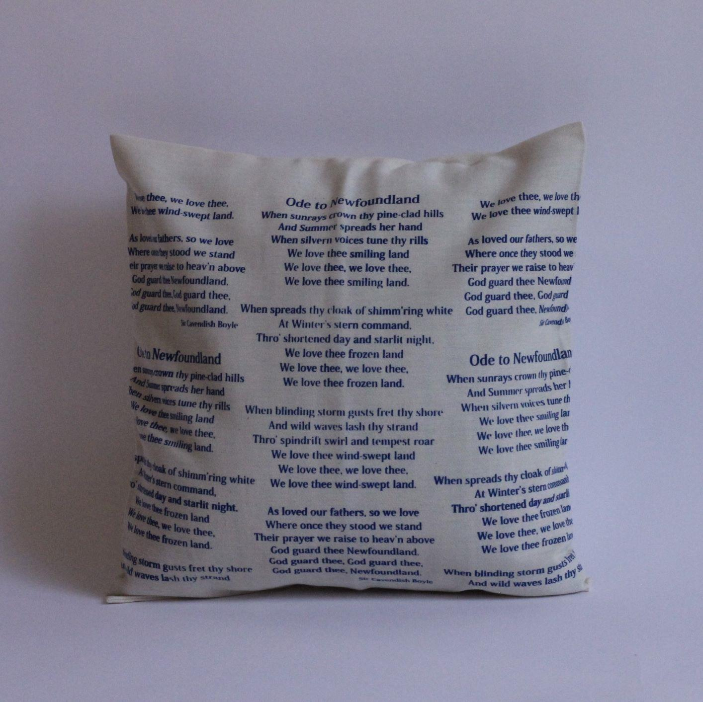 Ode To Newfoundland Pillow Cover