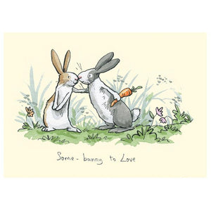 Some Bunny To Love Card