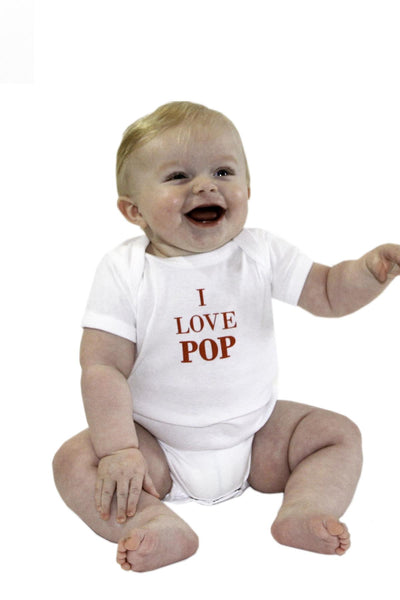 I Love Pop Baby Onesie | Newfoundland | Johnny Ruth