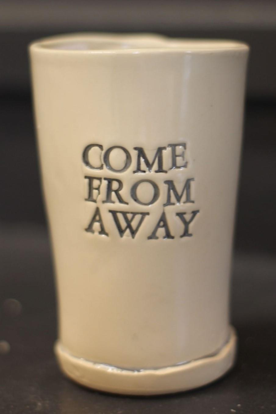 Come From Away Beer Glass