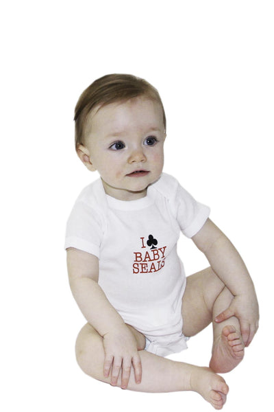 I Club Baby Seals onesie | Johnny Ruth | Newfoundland