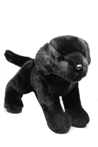 Black Labrador Plush Toy | Newfoundland | Johnny Ruth