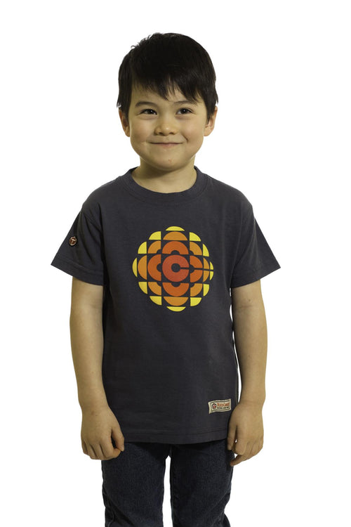 Kids Red Canoe CBC T-Shirt | Newfoundland | Johnny Ruth