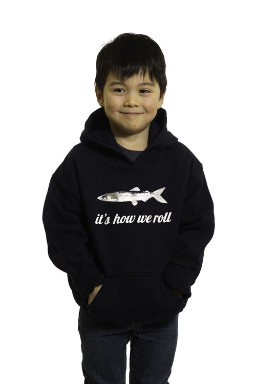 Caplin, It's How We Roll Kid's Hoodie | Newfoundland | Johnny Ruth